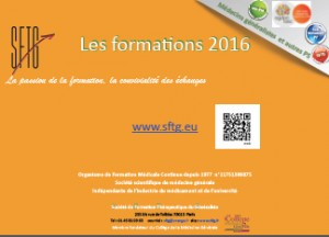 SFTG Formations Nationales 2016