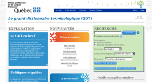 Traduction : GDT